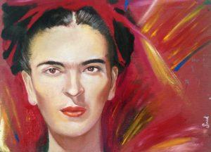 Zelfportret Frida
