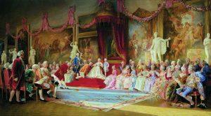 Catharina en haar hof