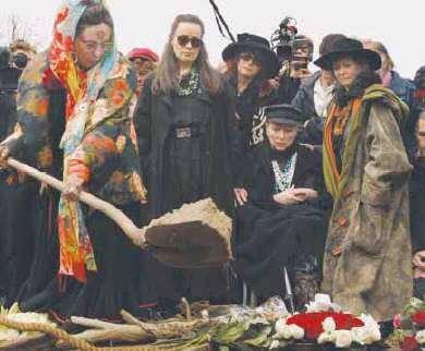 De begrafenis van Anton