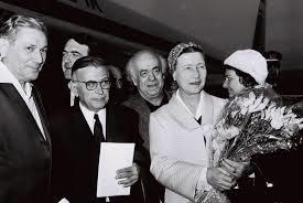 Simone met Sartre in Israel