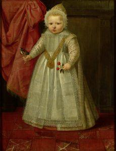 Portret van een jongetje, mogelijk de zoon van Maurits, Lodewijk