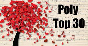 Stem weer mee op de Poly Top 30