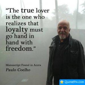 True Lover - Paul Coelho