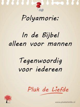 polyamorie bijbel
