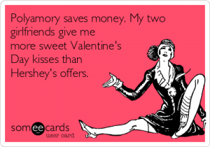 Polyamory saves money