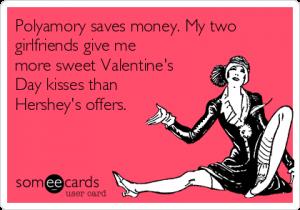 Polyamory saves money