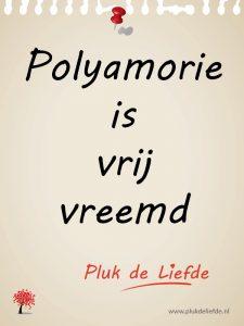 plukje - polyamorie is vrij vreemd