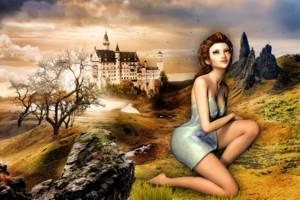Rozenhartje en haar twee Prinsen - een polysprookje