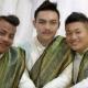 Drie Thaise mannen trouwen op Valentijnsdag