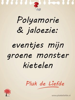 Polyamorie en het groene monster