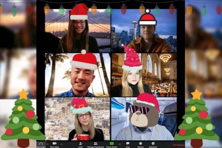 Poly-Ontmoeting in kerstsfeer